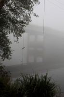 Foggy morning along the Black Warrior River in Tuscaloosa